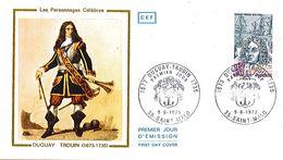 1748  Premier Jour  Duguay Trouin  Saint Malo  35  Ile Et Vilaine  9 Jiun 1973 - FDC