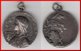 **** MEDAILLE B. JEANNE D'ARC 1412-1431 **** EN ACHAT IMMEDIAT !!! - Royal / Of Nobility