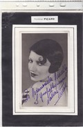 Nadine Picard - Autografi