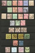 ANCIENS ÉTATS ALLEMANDS - Sur Une Carte à Choix Petite Collection De + 500 E De Cote - Verzamelingen (in Albums)