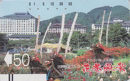 Télécarte Ancienne Japon / 110-9363 - Paysage - Landscape Japan Front Bar Phonecard / B - Landschaft Balken TK - Japan