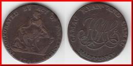 **** IRLANDE - IRELAND - DUBLIN - HALF PENNY TOKEN 1792 CAMAC KYAN AND CAMAC **** EN ACHAT IMMEDIAT !!! - Royaux / De Noblesse