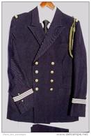 MARINE NATIONALE : TRES BEL ENSEMBLE UNIFORME OFFICIER LIEUTENANT De VAISSEAU - ETAT NEUF - Uniforms