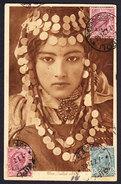 Poste Italiane Stamps With Libia Overprints On Postcard Tripoli Lybia To Argentina 1921 Postale Carte PC CPA Postkarte