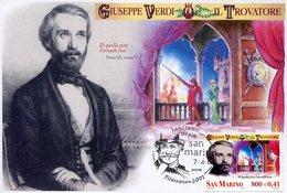 19592 San Marino, Maximum 2001, Giuseppe Verdi,  Music Opera Composer, Trovatore Music Opera - Music