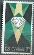 SUDAFRICA - AFRICA DEL SUR 1966 The 5th Anniversary Of Republic. USADO - USED. - África Del Sur (1961-...)