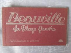 CARNET    DEAUVILLE LA PLAGE FLEURIE - Deauville