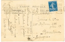 O.MEC KRAG PARIS GARE DE L'EST JO PARIS 1924 CPA LA BOURSE