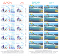 2004. Bulgaria, Europa 2004, 2 Sheetlets, Mint/** - 2004