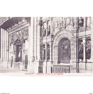 PLNCTPA145CPA-LFTD9770TBES.Tarjeta Postal DE PALENCIA.ARTE.escultura Del CRISTO DE LA BATALLAS En PALENCIA - Esculturas