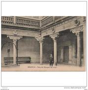 SGVTPA1846CPA-LFT5477TBES.Tarjeta Postal DE SEGOVIA.Edificio,ARTE.escultura, PALACIO DEL MARQUES DEL ARCO EN SEGOVIA - Esculturas