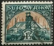 SUDAFRICA - AFRICA DEL SUR 1941 Local Motives - Goldmine. USADO - USED. - África Del Sur (1961-...)