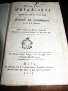 Deutche Sprahlehre - 1841 - Books, Magazines, Comics