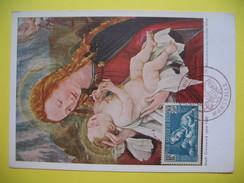 Carte-Maximum    N° 419Au Profit De La Société De Prophylaxie Sanitaire Et Morale - Maximum Cards