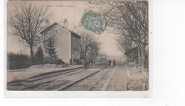 CLION (Indre) - La Gare (petit Accroc Dans Le Bas) - France