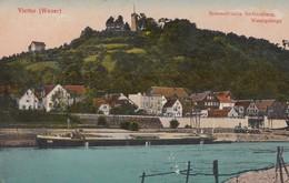 AK Vlotho (Weser) Sommerfrische Amtshausberg, Wesergebirge Color Nicht Gelaufen - Vlotho