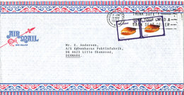 New Zealand Air Mail Cover Sent To Denmark Lower Hutt 14-11-1980 - Poste Aérienne