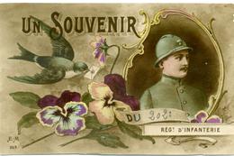 SOUVENIR DU 202 è  - Régiment D'Infanterie - Année 1917 - Régiments