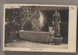 Ardennaise Au Lavoir -  Lavandière -  Beau Plan - Carte Précurseur - Professions