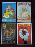Lot De 24 Cartes Cpm Publicitaire En  Tout Genre ( Voir Le Scan )  Publicité . - Cartes Postales