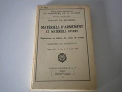 BULLETIN OFFICIEL DU MINISTÈRE DE LA GUERRE N° 566-1 De 1959 - Documents