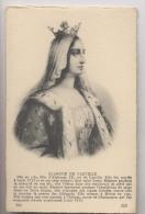 BLANCHE De CASTILLE - Portrait - Familles Royales