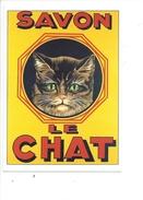 16311 - Savon Le Chat Reproduction D'affiche - Publicité