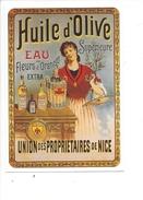 16312 - Huile D'Olive Union Des Propiétaires De Nice Reproduction D'affiche - Publicité
