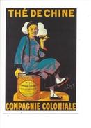 16314 - Thé De Chine Compagnie Coloniale Reproduction D'affiche - Publicité