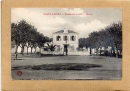 CPA DE 1914 - ALGERIE - SAINT LUCIEN - COMMUNE MIXTE - LA MAIRIE - Andere Städte