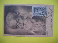Carte-Maximum    N°588  François Clouet  1943 - 1940-49