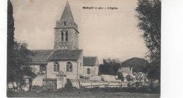 MARCAY (I. Et- L) - L'Eglise -  (plis Côté Gauche) - France