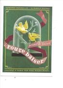 16317 - Le Rouge Baiser Permet Le Baiser Deux Colombes  Reproduction D'affiche - Publicité