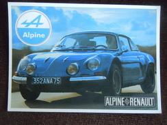Renault Alpine Berlinette - Rallyes