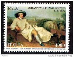 PIA -  ITALIA -  1999 : 250° Della Nascita Di Johann  Wolfgang  Goethe  -   (SAS  2424) - 1991-00:  Nuovi