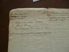 Sur Papier à En Tête Armée D'Italie Extrait Des Registres Révolution 16 Primaire An 9. Napoléon Premier Consul Autograph - Décrets & Lois