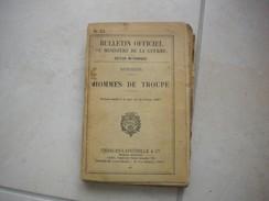 BULLETIN OFFICIEL DU MINISTÈRE DE LA GUERRE N° 71 De 1927 - Documents