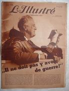 L'ILLUSTRE ( SUISSE ) .1939 : MOZART . MAISONS DE POUPEES . ALBANIE . ACTUALITES ..  Etc ... - Informaciones Generales