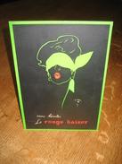 Ancien Carton Publicitaire Original (années 50) ROUGE BAISER Illustré Par René GRUAU : La Femme Au Bandeau - Placas De Cartón