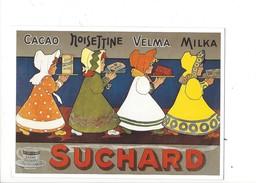 16321 - Chocolat Suchard Cacao Noisettine Velma MIlka Reproduction D'affiche - Publicité