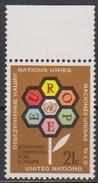 UNO New York 1972 MiNr.251   ** Postfrisch 25 Jahre Wirtschaftskommision Für Europa (  1970 ) - New York -  VN Hauptquartier