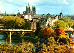 FRANCE. Carte Postale écrite. Notre-Dame De Paris. - Notre Dame De Paris