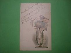 A. Socki Vienne, T Série VI N°28, Jeune Dame, Timbre 1899 (S1) - Peintures & Tableaux