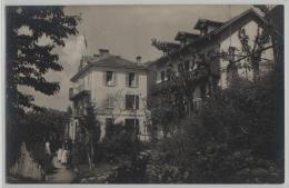 Pension Della Valle Brione Locarno - Animee - Besitzer: E. Valli-Britschgy - Stempel: Brione S. Minusio - TI Tessin
