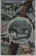 Travers Bonne Annee - Winter Litho (NE) - NE Neuchatel