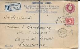 """GB / SUISSE - 1939 - ENVELOPPE De HAMPSTEAD Avec OBLITERATION SPECIALE """"SWISS COTTAGE"""" => LAUSANNE Avec TAXE - Schweiz"""