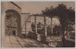 Motivo Rustico Di Brione - Künstlerkarte - TI Tessin