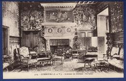 35 COMBOURG Intérieur Du Château, Le Salon - Combourg