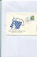 Jugoslavija 1975 Enveloppe Chess With Special Cancellation And Bird Stamp. - Schaken