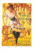 16330 - Byrrh Tonique Hygiénique Vins Généreux Quinquina Jeune Femme  Reproduction D'affiche - Publicité